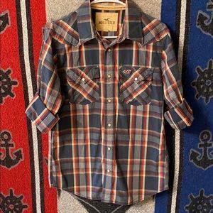 Hollister western style shirt